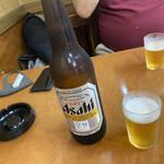 正宗屋 - 2020年8月10日  瓶ビール(アサヒスーパードライ)