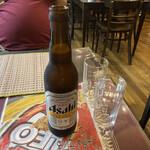 タイ料理専門店 TAI THAI - 2020年8月10日  瓶ビール 小(アサヒスーパードライ)
