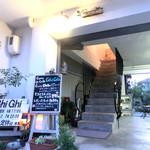 Curry&Café Ghi Ghi - 奥に見えるのはイングリッシュガーデン