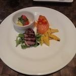 オステリア ディ レンドラ - Bランチ 前菜