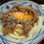 丸亀製麺 - (2020/7月)牛すき釜玉(並)