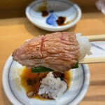 134685550 - 仙令鮨@仙台駅鮨通り店 本鮪頭肉