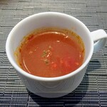 H&A CAFE Wedding - トマトの冷製スープ