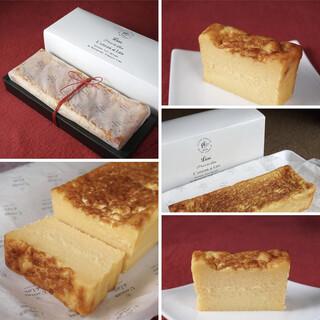 Lienのお取り寄せウォッシュチーズのベイクドチーズケーキ
