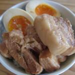 ベーコン工房 燻太 - 魯肉飯と愛玉子set \1000