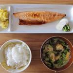 ベーコン工房 燻太 - 燻製文化サバ定食 ¥1000