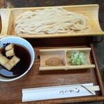 浅見茶屋  - 元祖つけうどん(大盛)800円