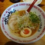 ラー麺 ずんどう屋 - 料理写真:和風HOTらーめん(細麺)