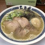 名島亭 - 煮卵豚骨ラーメン