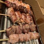 産地直送 お魚とお野菜 海畑 - 焼き物きました!! 写真ないけどニンニンダレのもも肉は美味しかった。