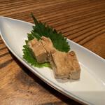 恵比寿魚金 - 豆腐味噌漬け 480円