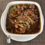 タイ料理ぺっぽい - クイッティオ・ヌァトゥン(¥950) 牛スジの米粉ヌードル
