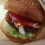 バーズイン カフェ - ハンバーガー拡大