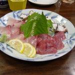 ホテルニュー西田「今年も豊作」 - 料理写真:新鮮なお刺身