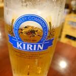 あい川 - ドリンク写真:生ビール
