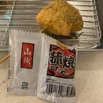 串カツ田中 - 鰻 タレ山椒付き