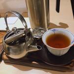 京はやしや - ♦︎ほうじ茶氷あんこお茶セット ¥1,640