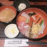 炉端かば - 海鮮丼950円