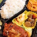 キッチンヒマラヤ - 料理写真:ハンバーグ弁当