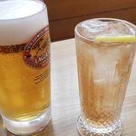 忠弥 - ビールとカクテル