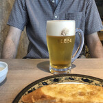リトル シェフ にんにく - ドリンク写真:生ビール