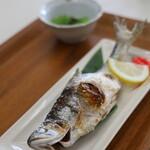 みずうみ亭 - 料理写真:ヒメマスの塩焼き