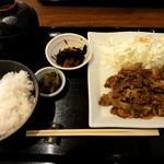 すえひろ亭 - 和牛焼肉定食