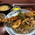 食堂 備前 - アナゴ丼850円@2012.6.17