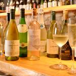 ひとはし - 白ワイン集合