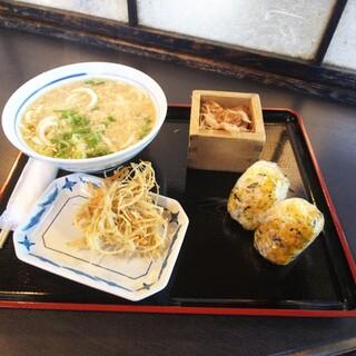大介うどん - 料理写真:これで690円