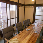 銀シャリ 原始焼き 食堂 ロビン - 2階個室【6名様~10名様】①