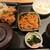 旬鮮酒場 天狗 - 鶏の唐揚げさっぱりポン酢と回鍋肉650円