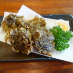 南国食堂 ちむどんどん - もずくの天ぷら