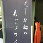 京ばし松輪 - 開店前に到着も