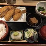 134734588 - 京はし松輪のアジフライ定食