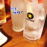 きど藤 - レモンサワー
