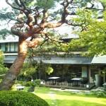 134736871 - 樹齢200年の赤松(お庭中央)