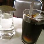 ニューダイカマ - 夏場の食後はアイスコーヒー!
