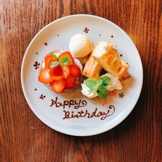 お誕生日などのお祝いに