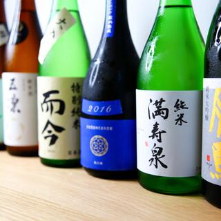 希少銘柄の日本酒から日本ワインやヴァンナチュールまで
