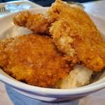 栄寿亭 - カツ丼 C (卵なし、ジャンボカツ)