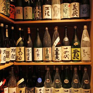 ■十四代など稀少なお酒も多数ご用意しております■