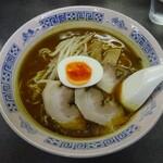 来山軒 - 料理写真:カレーラーメン
