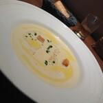 134751842 - 安納芋の冷製スープ 202008