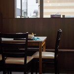 つむら家 - 2020.8 テーブル席