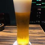 鳥良 - 生ビール