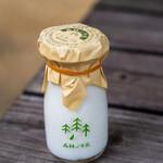 森林ノ牧場 - 2020.8 森林の牛乳(90ml瓶 200円)