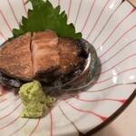 かまた寿司 - アワビ