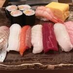 かまた寿司 - ランチ握り
