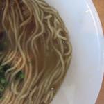 スープナッツ - とんこつラーメン(麺)